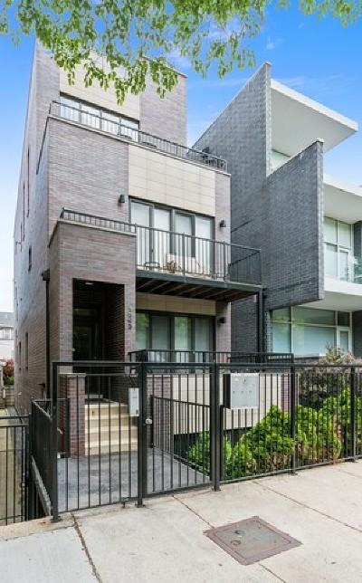 Chicago Condo/Townhouse New: 1543 North Bosworth Avenue #3