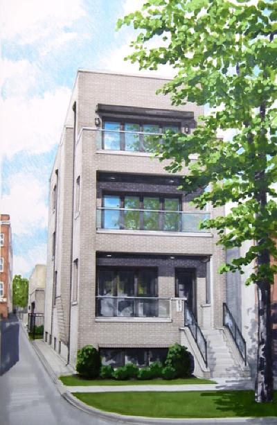 Chicago Condo/Townhouse New: 2731 West Cortez Street #3