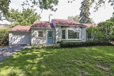 Clarendon Hills Single Family Home For Sale: 54 Bonnie Lane