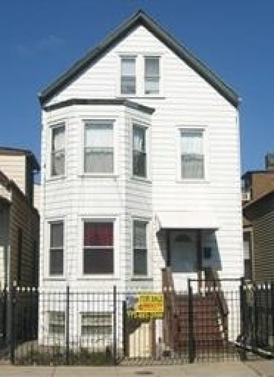 Chicago Multi Family Home For Sale: 2106 North Pulaski Road