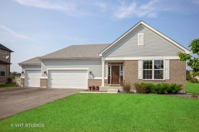 Plainfield Single Family Home Price Change: 25114 West Zoumar Drive