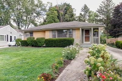 Wheaton Single Family Home For Sale: 147 South Prospect Street