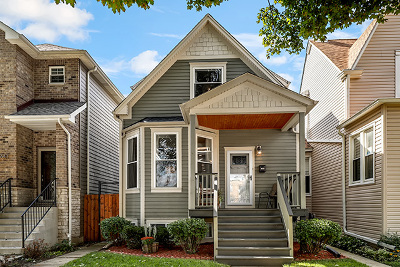 Chicago Single Family Home For Sale: 4643 West Grace Street