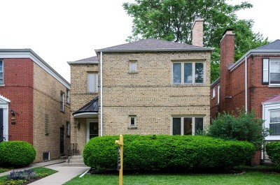 Single Family Home For Sale: 6723 North Mozart Street