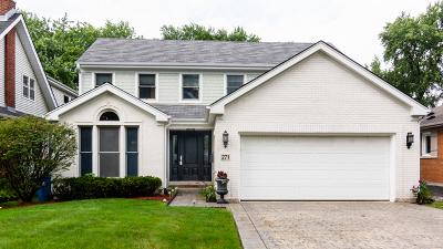 Elmhurst Single Family Home For Sale: 271 East St Charles Road