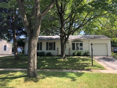 Buffalo Grove Single Family Home Price Change: 219 Forest Place