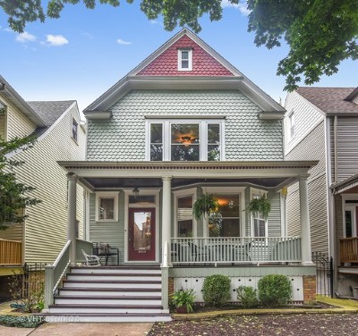 Single Family Home For Sale: 3848 North Seeley Avenue