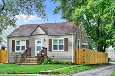 Lansing  Single Family Home For Sale: 17812 Community Street