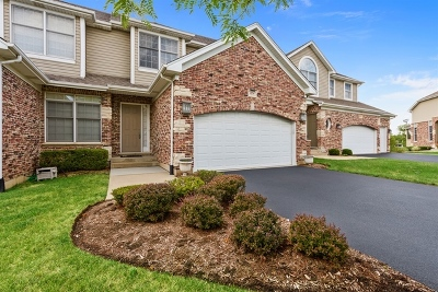 Palatine Condo/Townhouse For Sale: 1274 South Falcon Drive