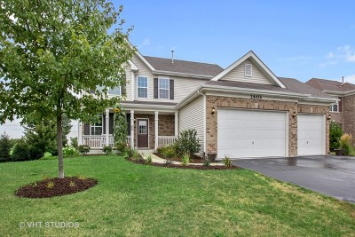 Plainfield Single Family Home Re-Activated: 24434 Kennedy Circle