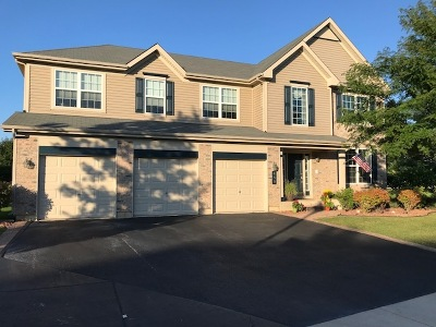 Lake Villa, Lindenhurst Single Family Home For Sale: 489 Sandlewood Lane