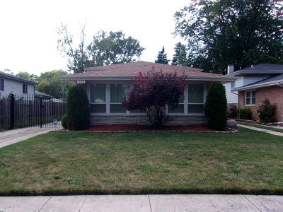 Dolton  Single Family Home Price Change: 15140 Chicago Road