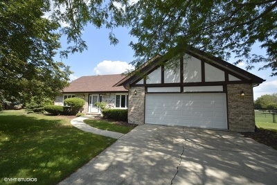 Frankfort Single Family Home For Sale: 20329 South White Fence Court