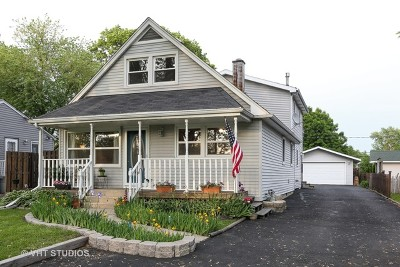 Westmont Single Family Home For Sale: 4029 North Park Street