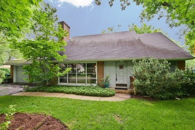 Wilmette Single Family Home Price Change: 3131 Sprucewood Road