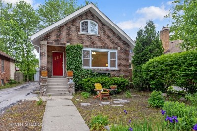 Wilmette Single Family Home For Sale: 221 16th Street