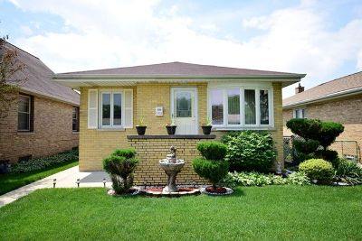 Franklin Park Single Family Home For Sale: 3314 Pearl Street