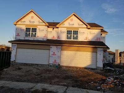 Romeoville Condo/Townhouse For Sale: 671 North Elizabeth Court #25L