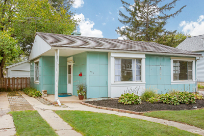 Lombard Single Family Home For Sale: 454 South Edgewood Avenue