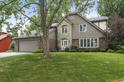 Downers Grove Single Family Home Price Change: 8112 Woodcreek Court