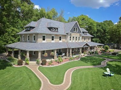 Lake Villa, Lindenhurst Single Family Home For Sale: 25460 West Columbia Bay Road