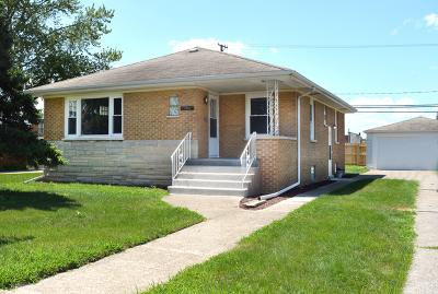 Calumet City  Single Family Home For Sale: 500 Hirsch Avenue