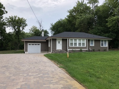 Warrenville Single Family Home Price Change: 30w032 Batavia Road