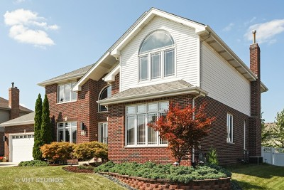 Tinley Park Single Family Home Price Change: 9030 Redcastle Drive