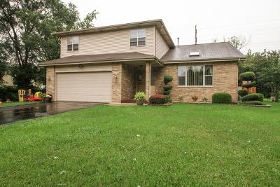 Markham Single Family Home For Sale: 15827 Sawyer Avenue