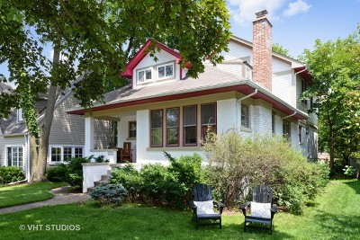 Evanston IL Single Family Home For Sale: $650,000