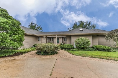 Plainfield Single Family Home Price Change: 23215 West Lake Place