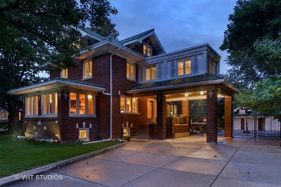 River Forest Single Family Home For Sale: 823 Jackson Avenue