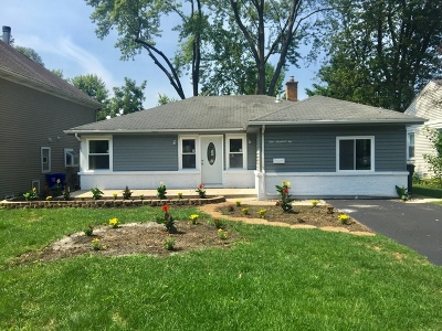 Mount Prospect Single Family Home For Sale: 102 North Kenilworth Avenue