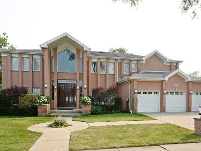 Skokie Single Family Home For Sale: 5021 Fairview Lane