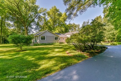 Warrenville Single Family Home For Sale: 3s620 Mignin Drive