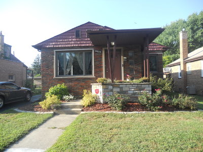 Evergreen Park Single Family Home Price Change: 3636 West 99th Street