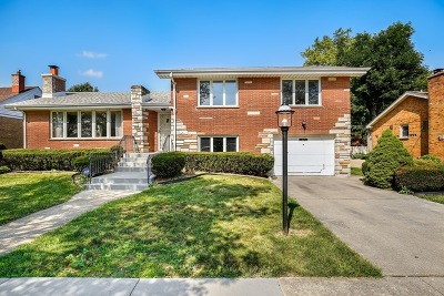 Evergreen Park Single Family Home Re-Activated: 9224 South Francisco Avenue