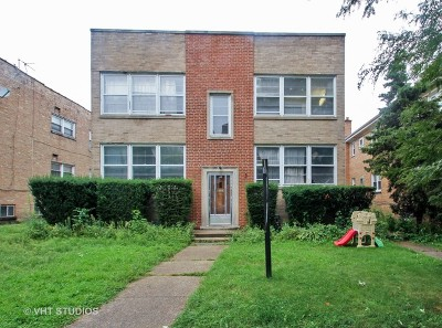 Skokie Multi Family Home For Sale: 9119 Lacrosse Avenue