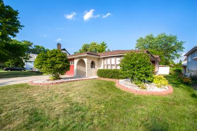 Oak Lawn Single Family Home Price Change: 9547 Moody Avenue