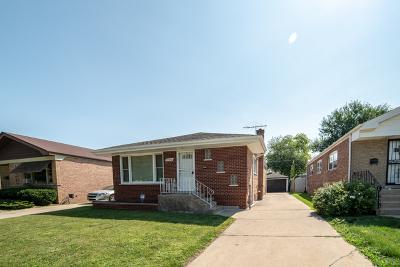 Dolton  Single Family Home For Sale: 14435 Kimbark Avenue