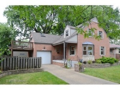 Skokie Single Family Home For Sale: 8640 Kimball Avenue