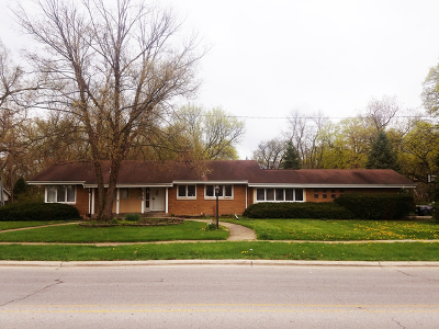 Flossmoor  Single Family Home For Sale: 2516 Flossmoor Road