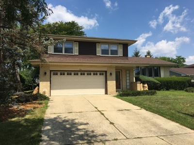 Schaumburg Single Family Home For Sale: 314 East Weathersfield Way