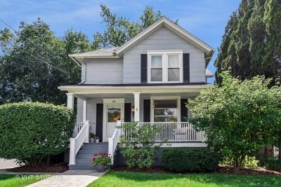 Wheaton Single Family Home For Sale: 118 West Lincoln Avenue