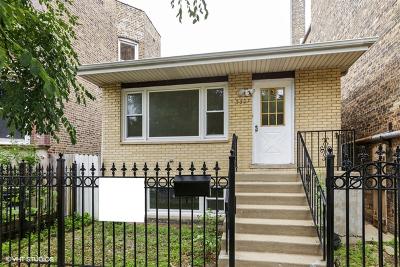 Single Family Home For Sale: 5307 North Ashland Avenue