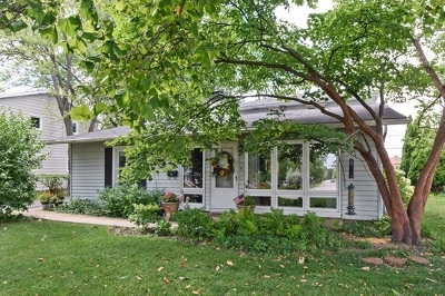 Glenview Single Family Home For Sale: 3323 Thornberry Drive