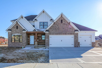 Plainfield Single Family Home Price Change: 12201 Sinclair Drive