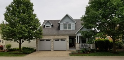 Plainfield Single Family Home Price Change: 13415 Lake Mary Drive