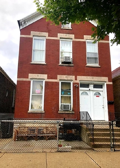 Multi Family Home For Sale: 2825 West Cullerton Avenue