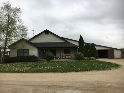 Marengo Single Family Home For Sale: 11002 Harmony Hill Road